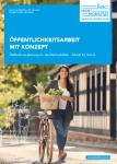 Cover: Leitfaden Öffentlichkeitsarbeit mit Konzept