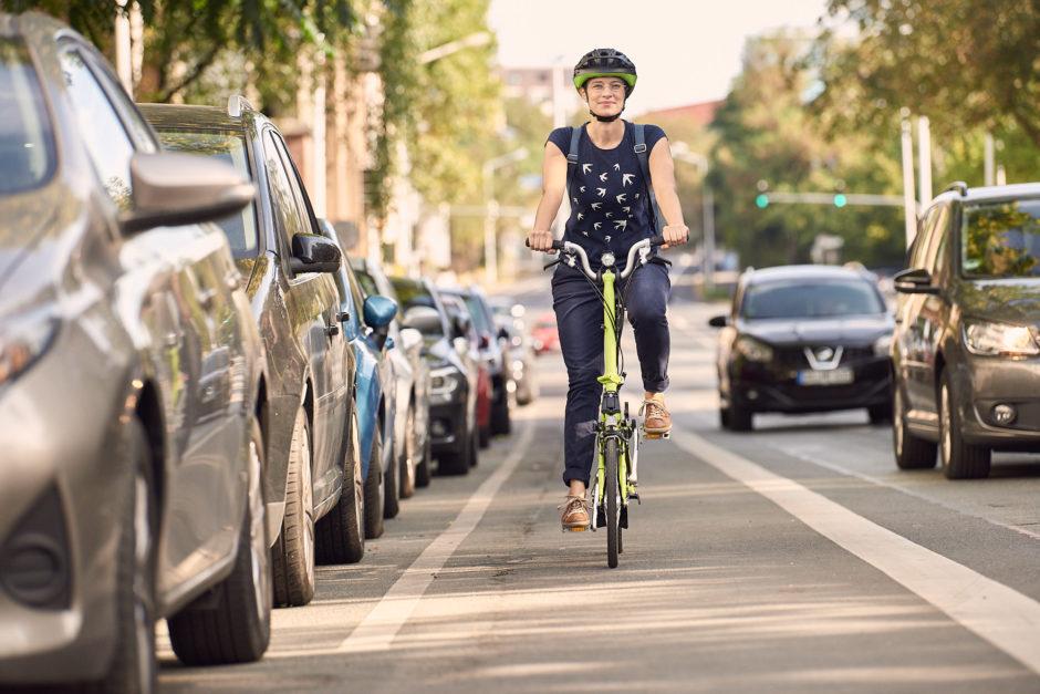 Mit Fahrrad unterwegs