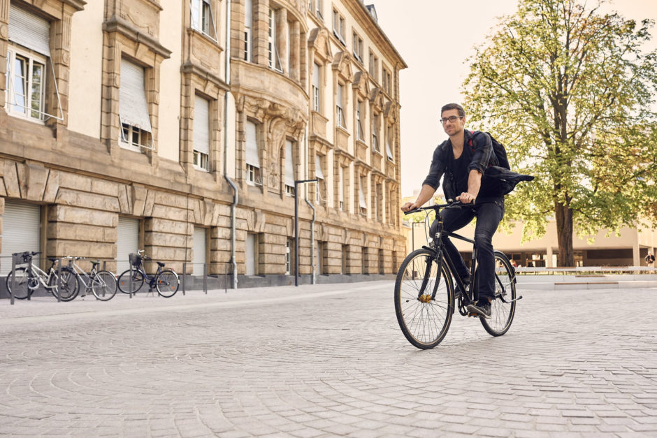 Radfahren am Campus