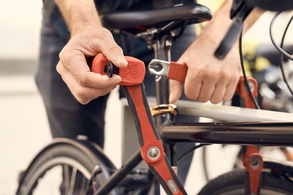 Sicheres Fahrradschloss