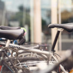 Abgestellte Fahrräder
