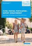 Cover: Leitfaden für Druckvorlagen von Flyer, Postern & Co.