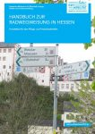 Cover: Handbuch Radwegweisung in Hessen