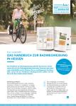 Cover: Flyer: Radwegweisung