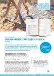 Cover: Flyer: Nahmobilitäts-Check