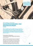 Cover: Flyer: Qualitaetsstandards und Musterlösungen