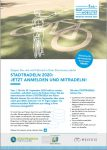 Cover: Flyer: STADTRADELN 2020