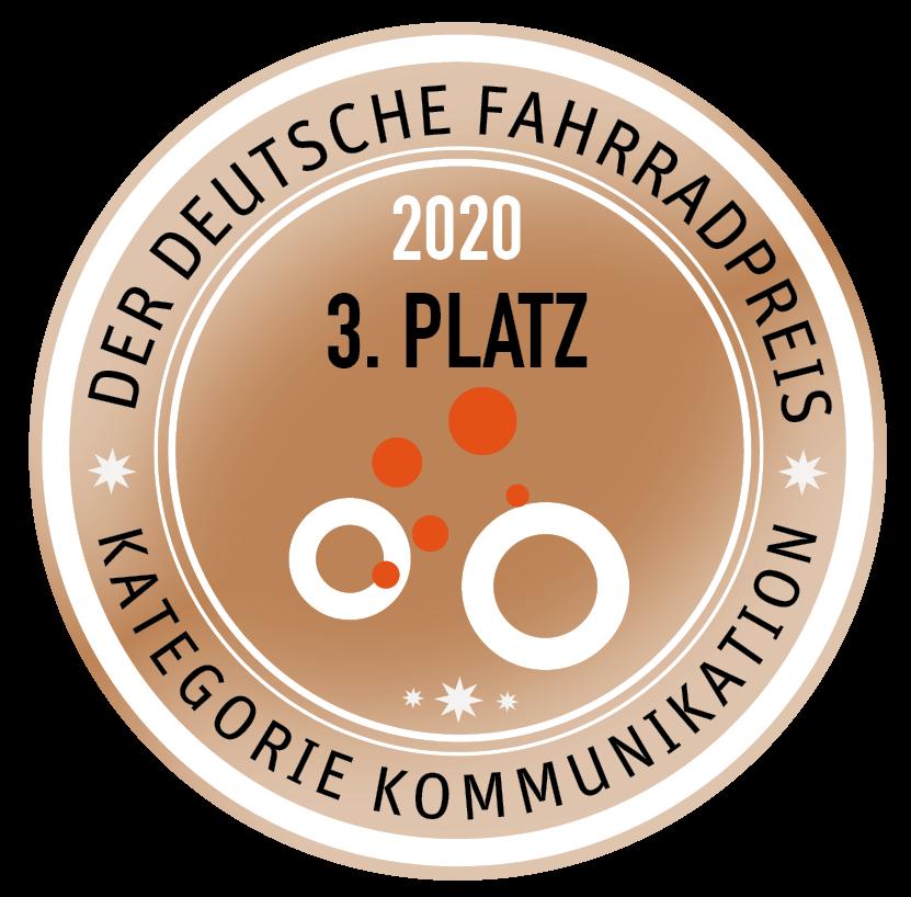 Auszeichnung Der Deutsche Fahrradpreis 3. Platz