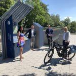 """""""Radstätte"""" am Radweg Deutsche Einheit in Kassel eingeweiht"""