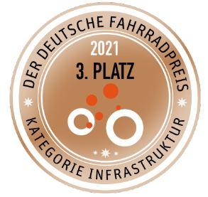 Der deutsche Fahrradpreis 3. Platz 2021